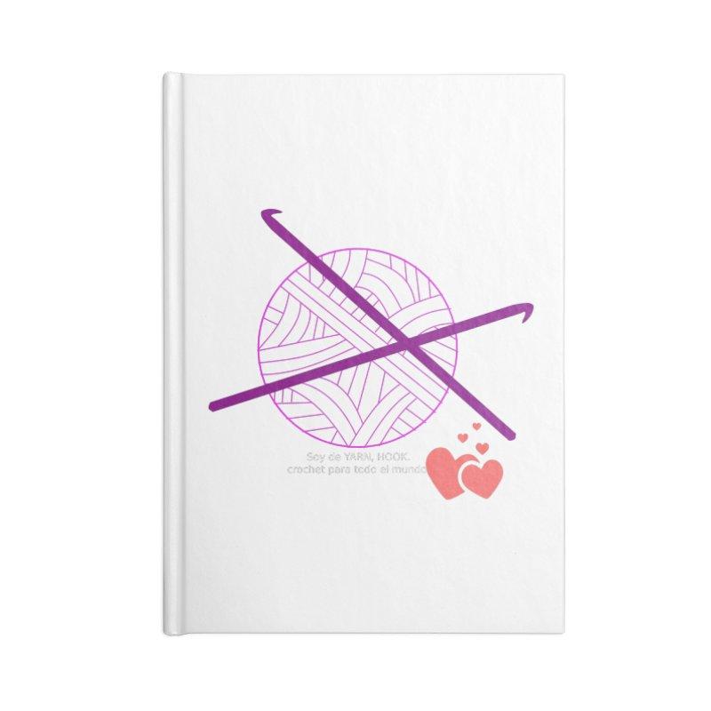 Crochet Creativo Accessories Notebook by ZuniReds's Artist Shop