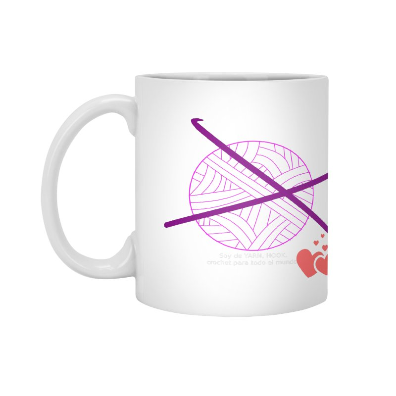 Crochet Creativo Accessories Mug by ZuniReds's Artist Shop