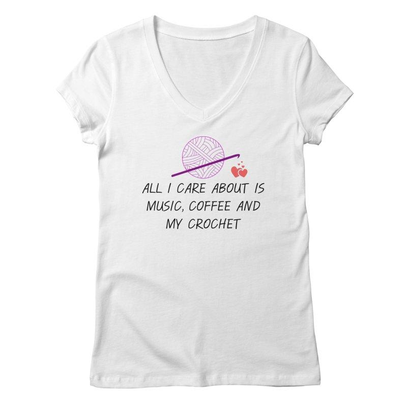Lo que importa Women's Regular V-Neck by ZuniReds's Artist Shop