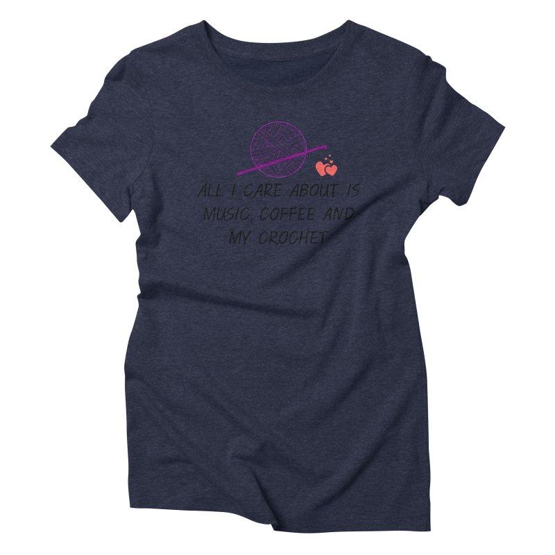 Lo que importa Women's Triblend T-Shirt by ZuniReds's Artist Shop