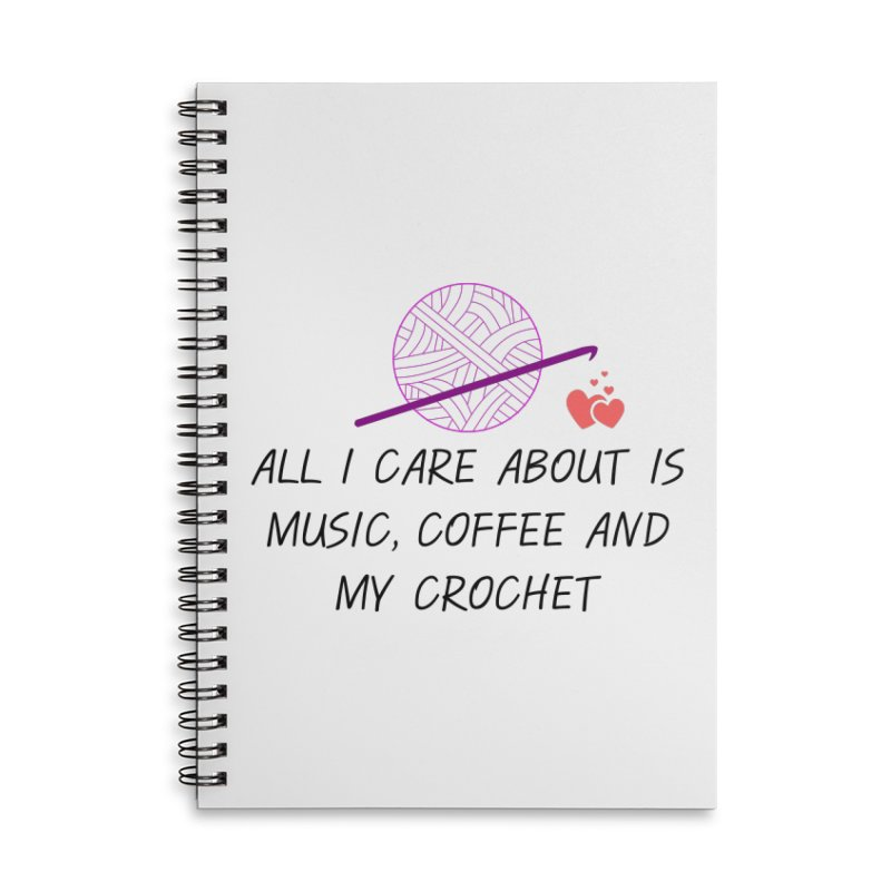 Lo que importa Accessories Notebook by ZuniReds's Artist Shop