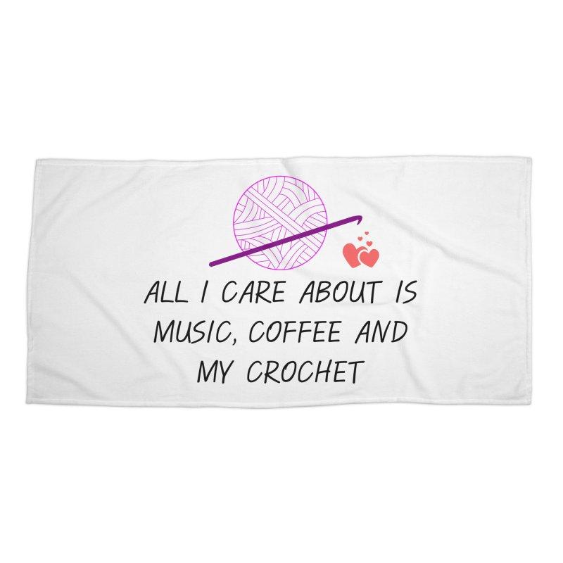 Lo que importa Accessories Beach Towel by ZuniReds's Artist Shop