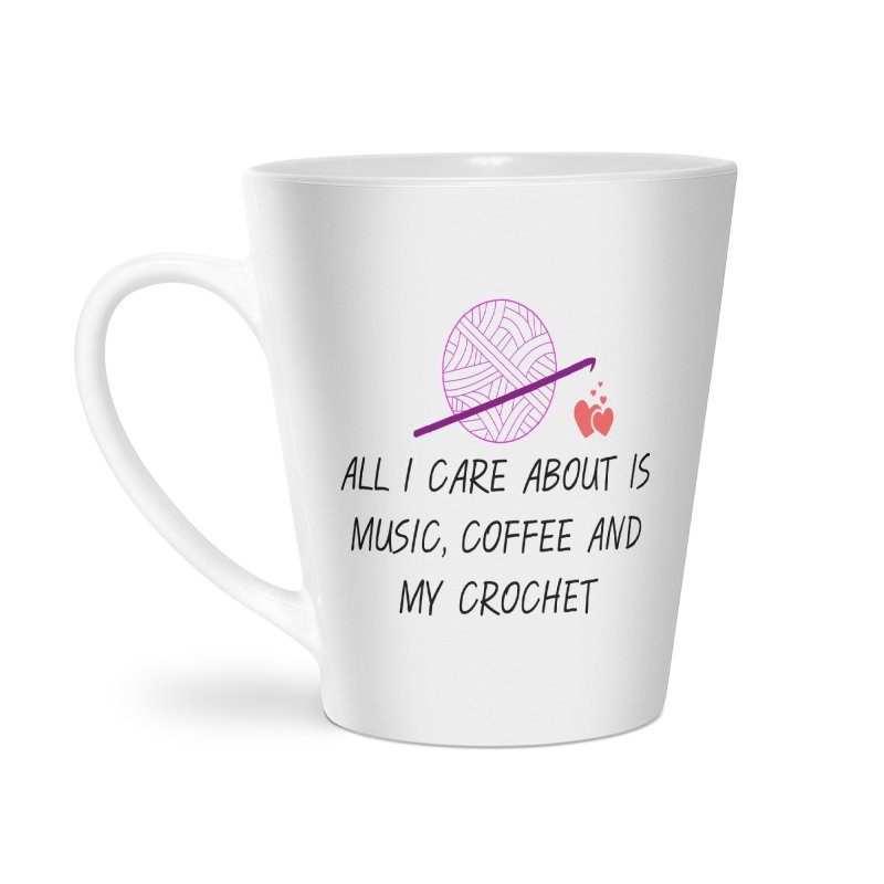 Lo que importa Accessories Latte Mug by ZuniReds's Artist Shop