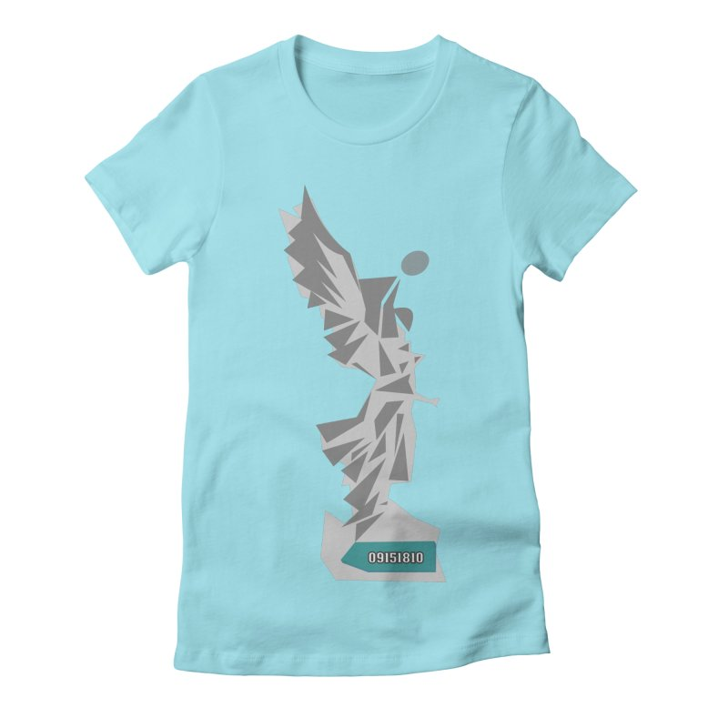 Independencia Women's Fitted T-Shirt by ZuniReds's Artist Shop