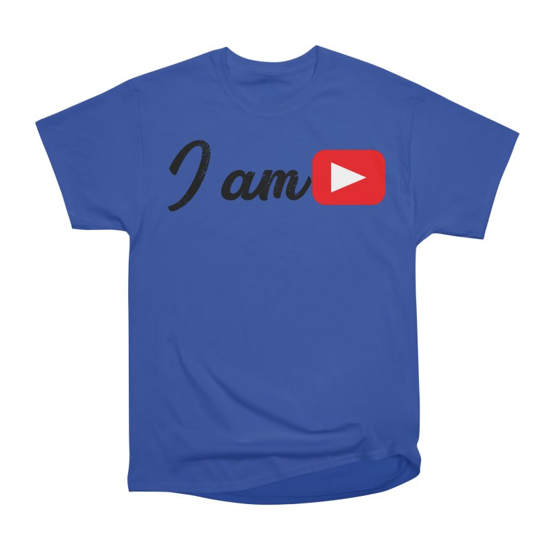 Yo soy  Youtube Women's Heavyweight Unisex T-Shirt by ZuniReds's Artist Shop