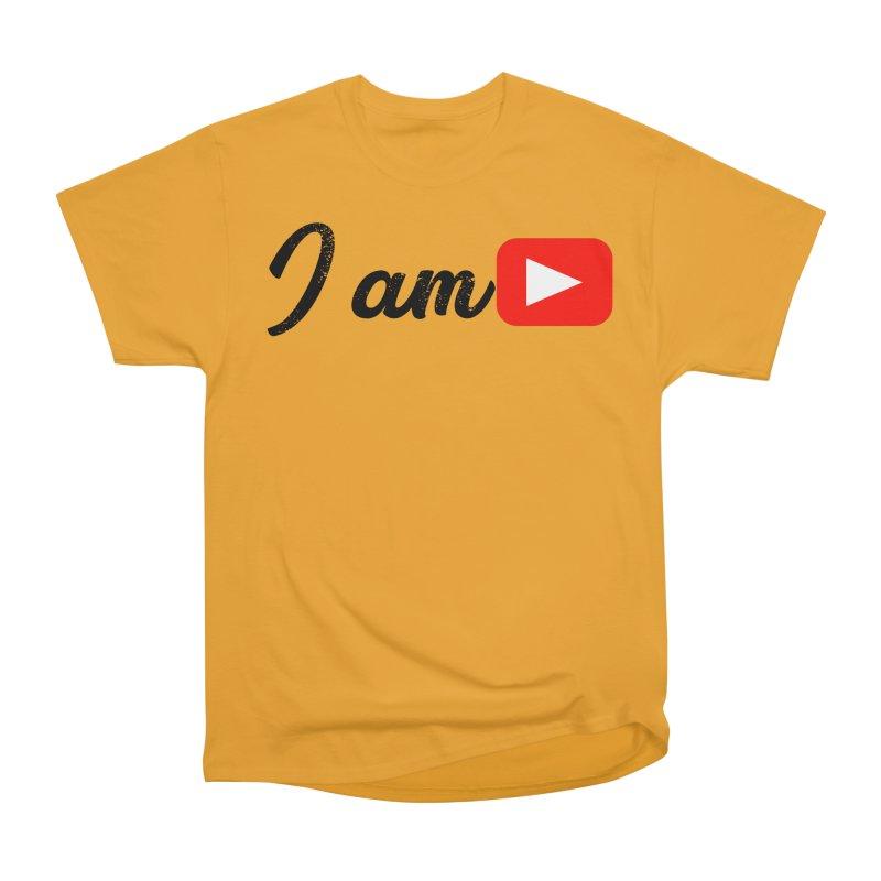 Yo soy  Youtube Men's Heavyweight T-Shirt by ZuniReds's Artist Shop