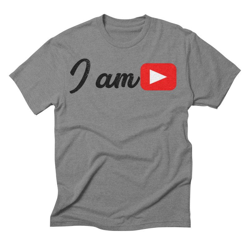 Yo soy  Youtube Men's Triblend T-Shirt by ZuniReds's Artist Shop