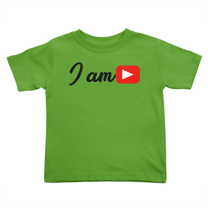 Yo soy  Youtube Kids Toddler T-Shirt by ZuniReds's Artist Shop
