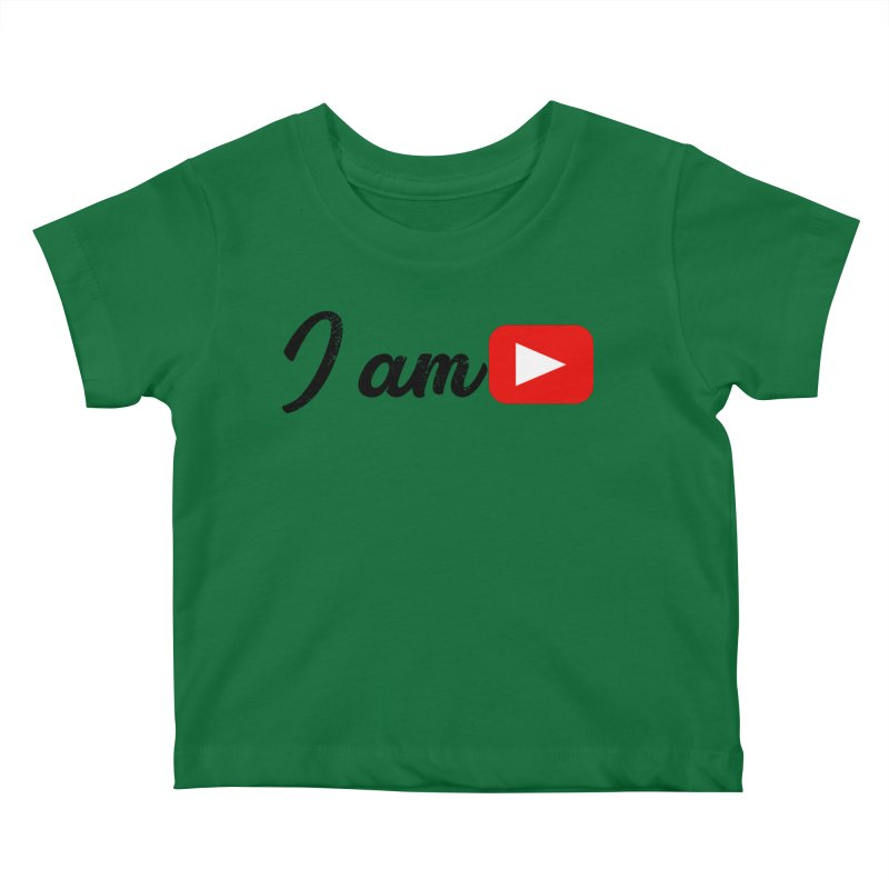 Yo soy  Youtube Kids Baby T-Shirt by ZuniReds's Artist Shop