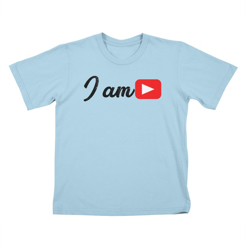 Yo soy  Youtube Kids T-Shirt by ZuniReds's Artist Shop