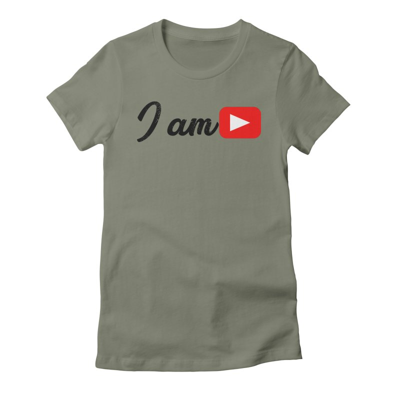 Yo soy  Youtube Women's Fitted T-Shirt by ZuniReds's Artist Shop