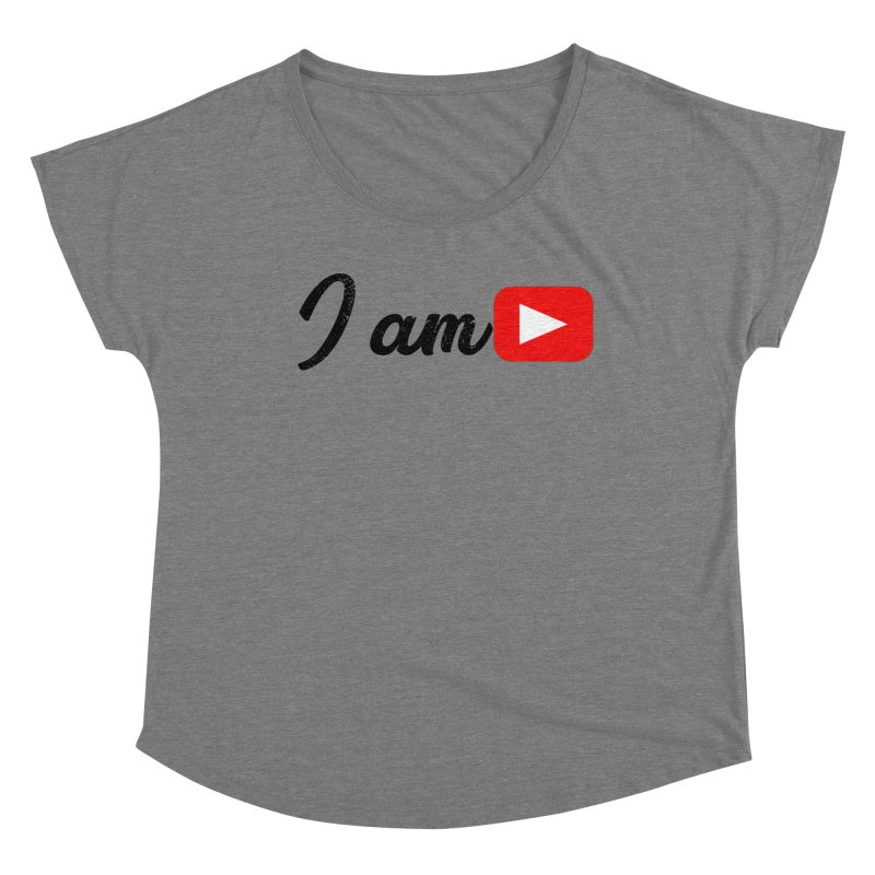 Yo soy  Youtube Women's Scoop Neck by ZuniReds's Artist Shop