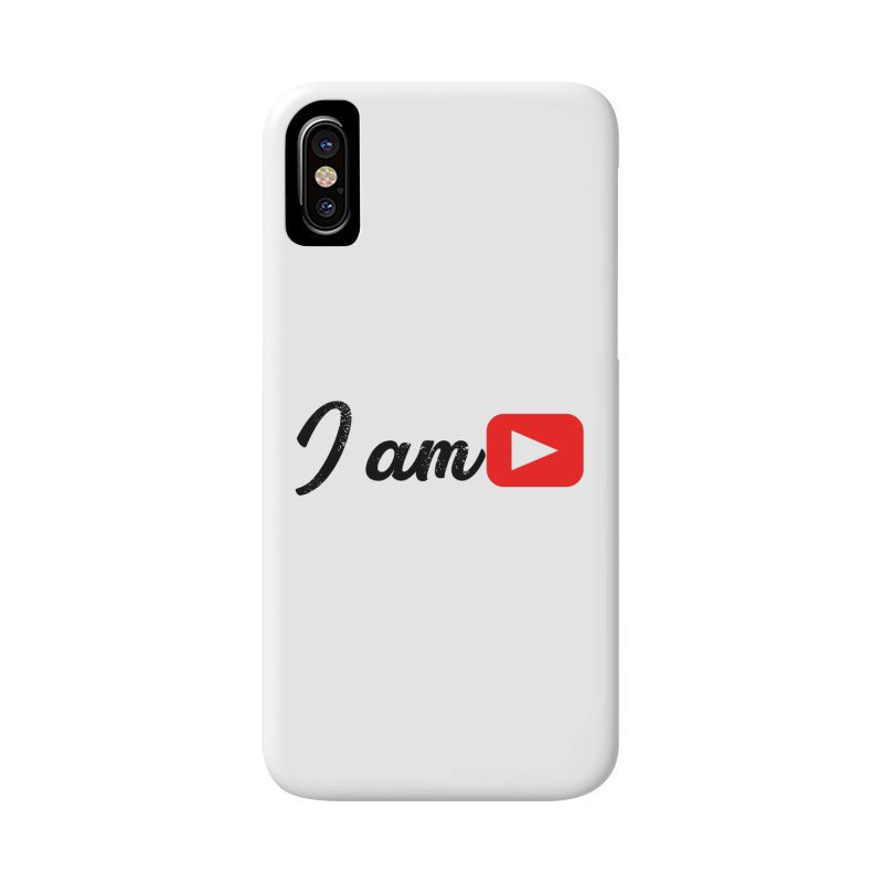 Yo soy  Youtube Accessories Phone Case by ZuniReds's Artist Shop