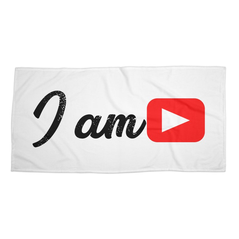 Yo soy  Youtube Accessories Beach Towel by ZuniReds's Artist Shop