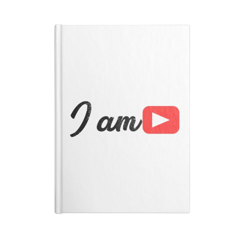 Yo soy  Youtube Accessories Notebook by ZuniReds's Artist Shop