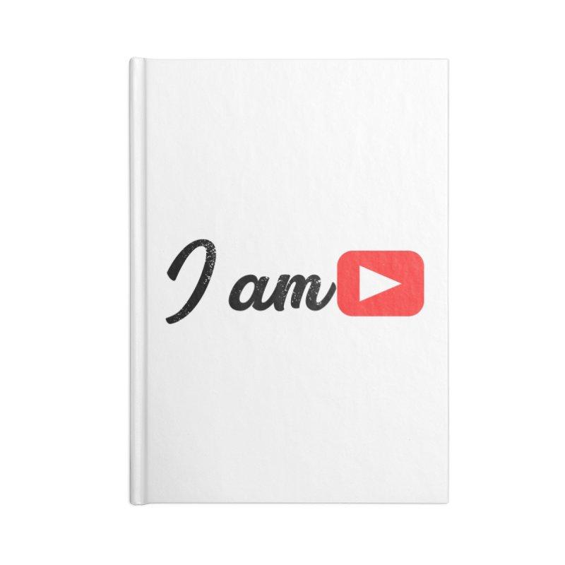 Yo soy  Youtube Accessories Blank Journal Notebook by ZuniReds's Artist Shop
