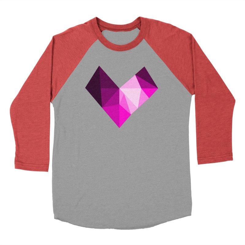 My pink heart Men's Longsleeve T-Shirt by ZuniReds's Artist Shop