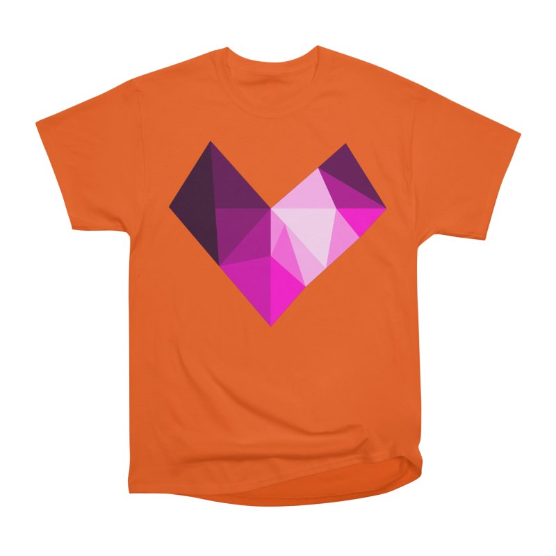 My pink heart Men's Heavyweight T-Shirt by ZuniReds's Artist Shop