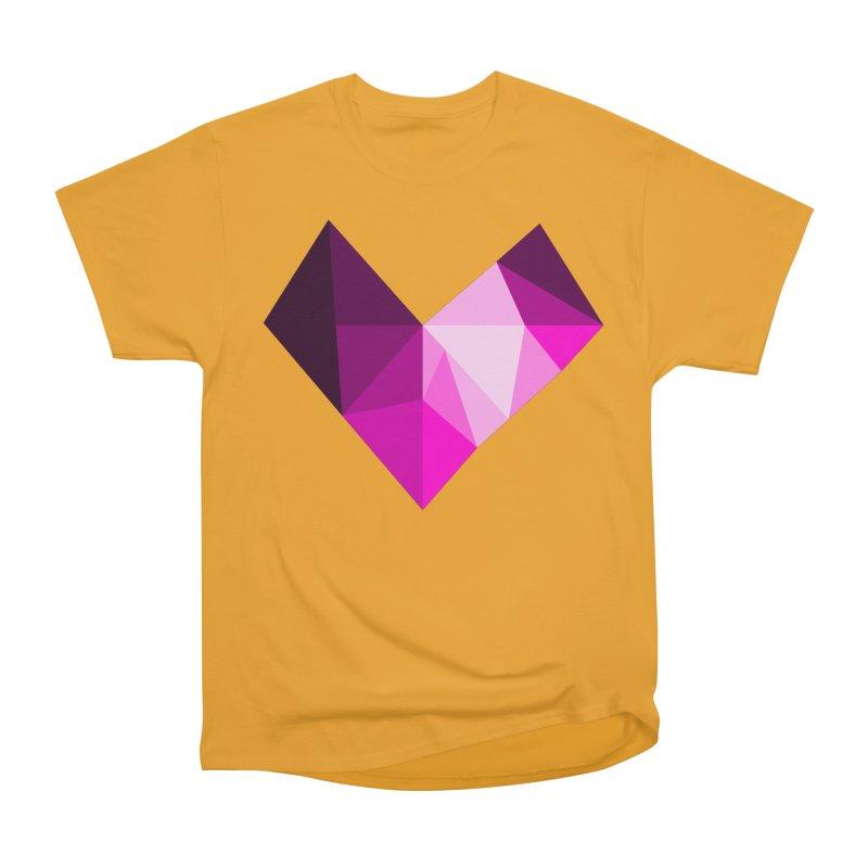 My pink heart Women's Heavyweight Unisex T-Shirt by ZuniReds's Artist Shop