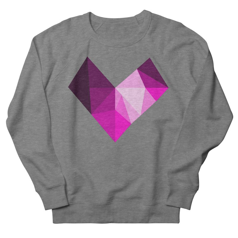 My pink heart Men's Sweatshirt by ZuniReds's Artist Shop