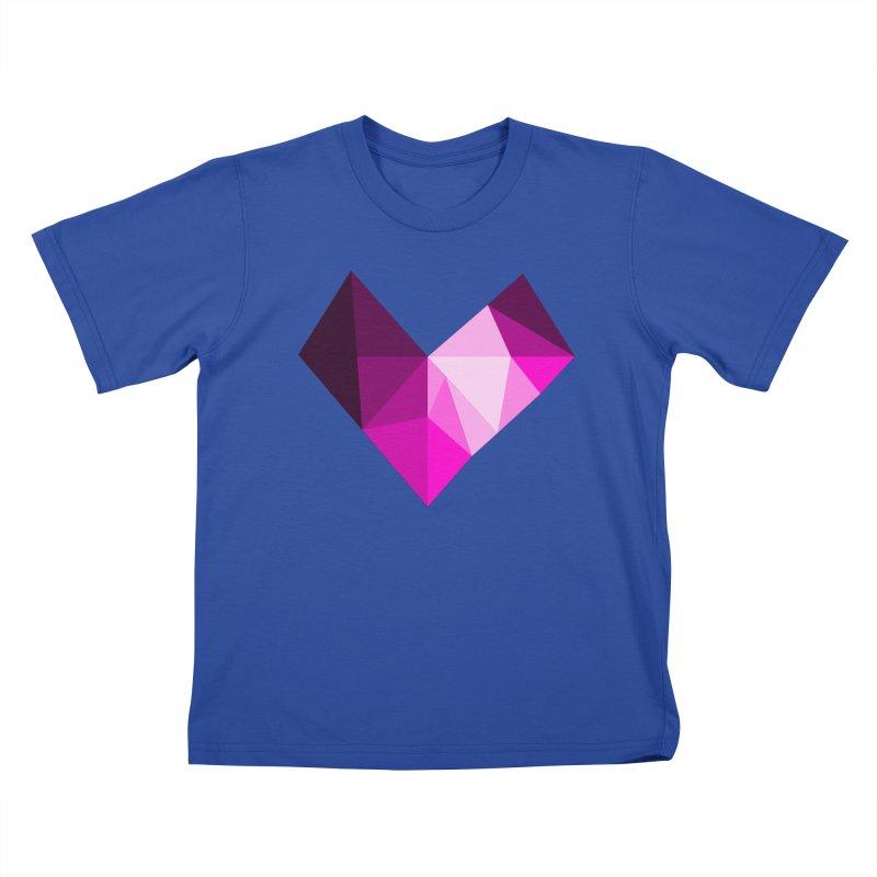My pink heart Kids T-Shirt by ZuniReds's Artist Shop