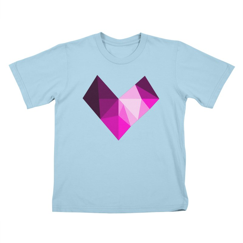 My pink heart Kids T-Shirt by ZuniReds's Artist Shop