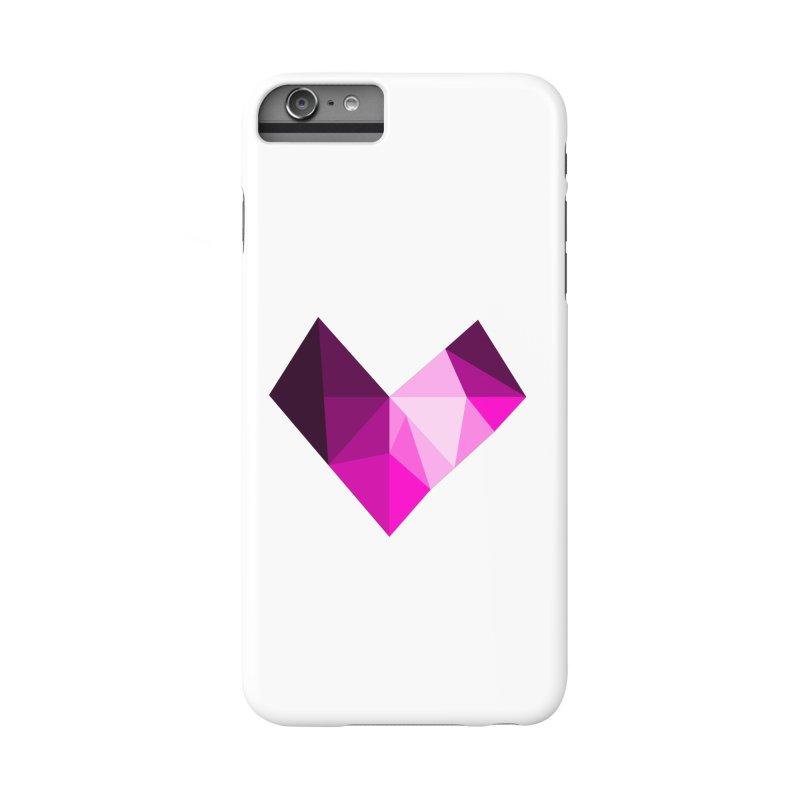 My pink heart Accessories Phone Case by ZuniReds's Artist Shop