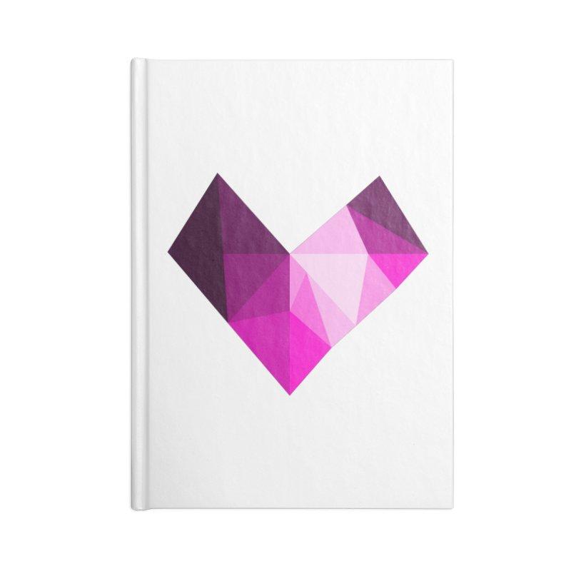 My pink heart Accessories Blank Journal Notebook by ZuniReds's Artist Shop