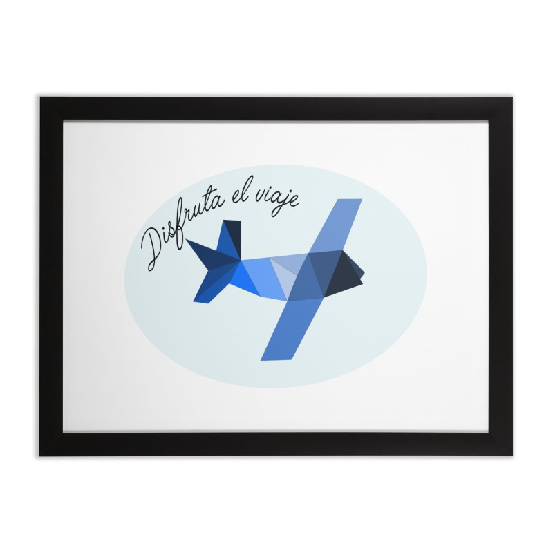 Disfruta del viaje Home Framed Fine Art Print by ZuniReds's Artist Shop