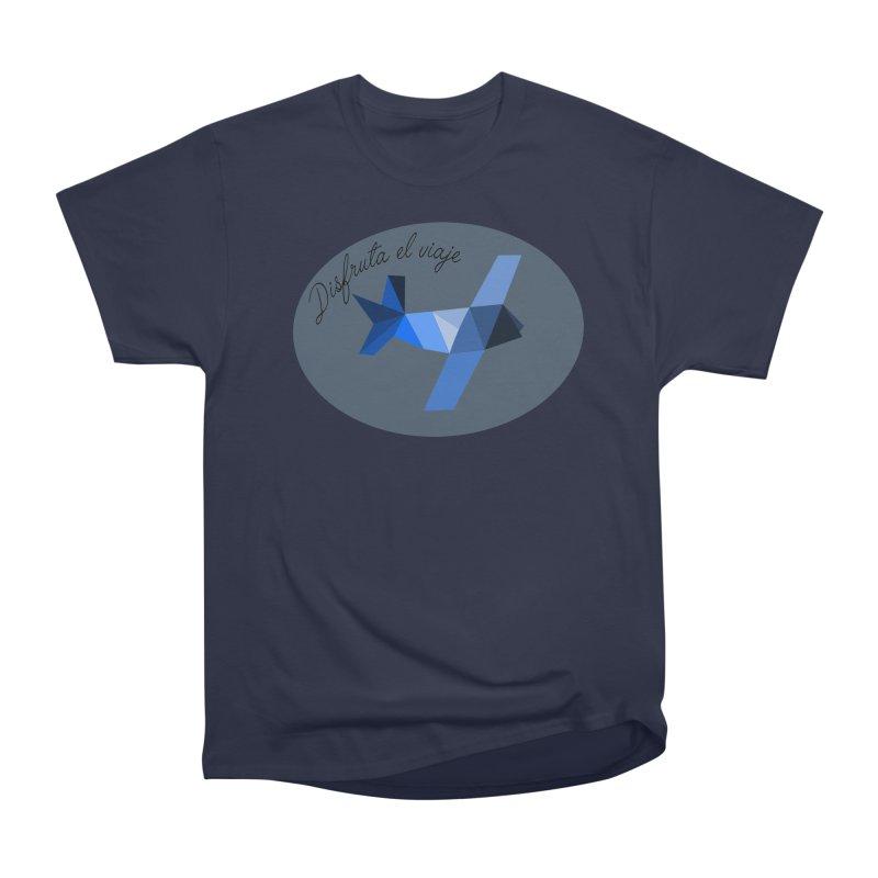 Disfruta del Viaje Men's Heavyweight T-Shirt by ZuniReds's Artist Shop