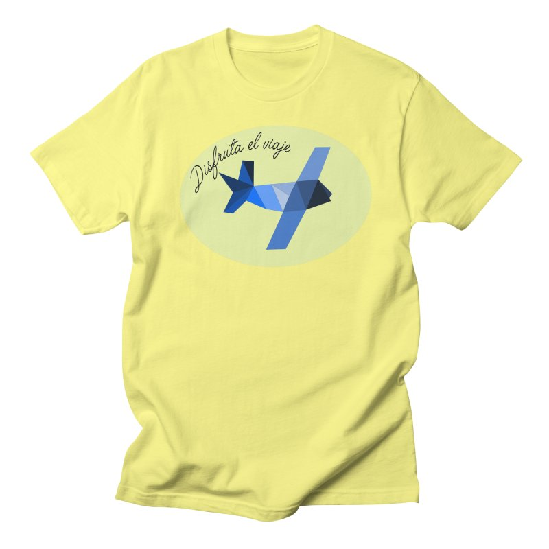 Disfruta del Viaje Women's Regular Unisex T-Shirt by ZuniReds's Artist Shop
