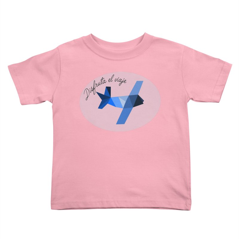 Disfruta del Viaje Kids Toddler T-Shirt by ZuniReds's Artist Shop
