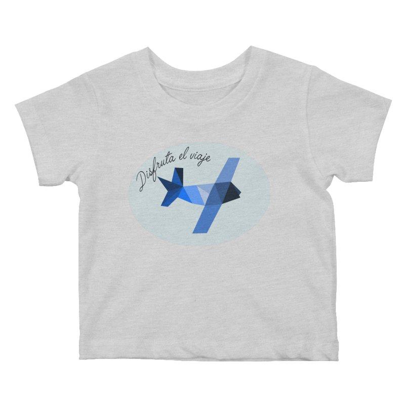 Disfruta del Viaje Kids Baby T-Shirt by ZuniReds's Artist Shop