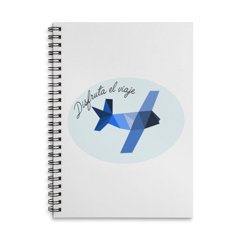 Disfruta del Viaje Accessories Lined Spiral Notebook by ZuniReds's Artist Shop