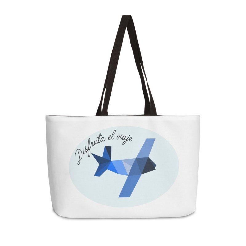 Disfruta del Viaje Accessories Weekender Bag Bag by ZuniReds's Artist Shop