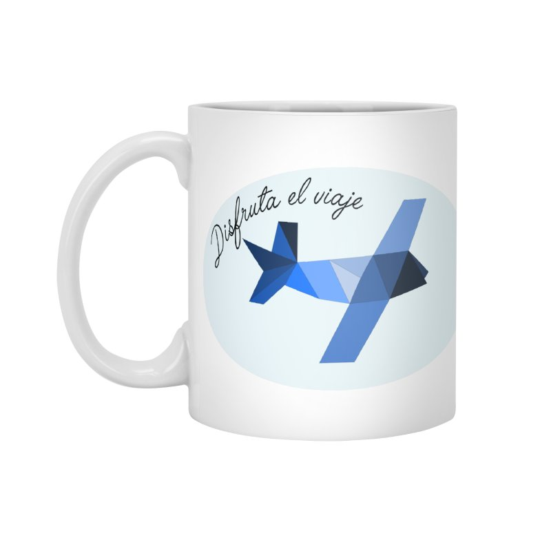 Disfruta del Viaje Accessories Standard Mug by ZuniReds's Artist Shop