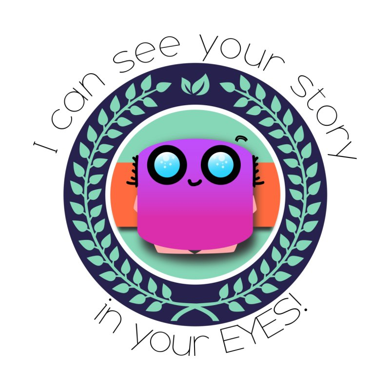 Your story in your eyes Kids T-Shirt by ZuniReds's Artist Shop