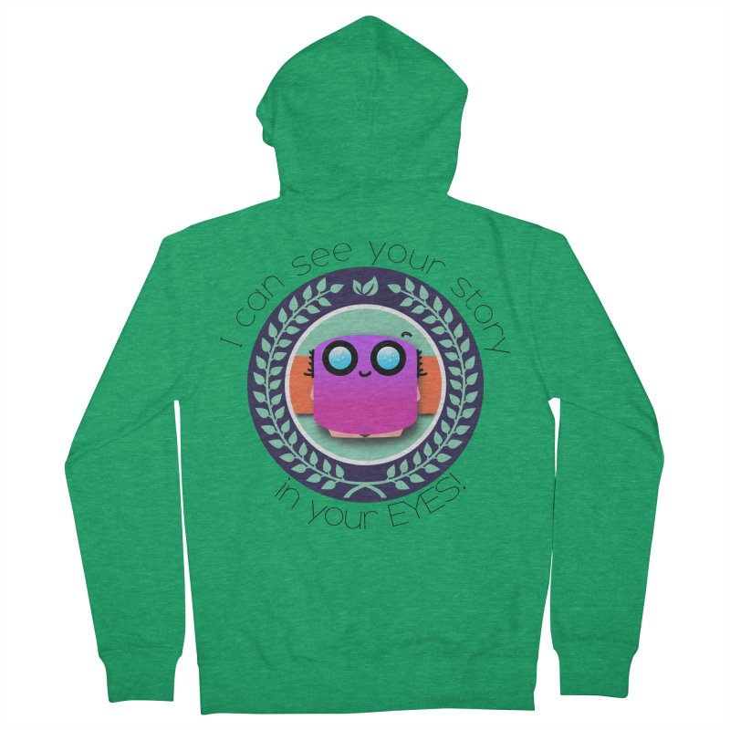 Your story in your eyes Women's Zip-Up Hoody by ZuniReds's Artist Shop