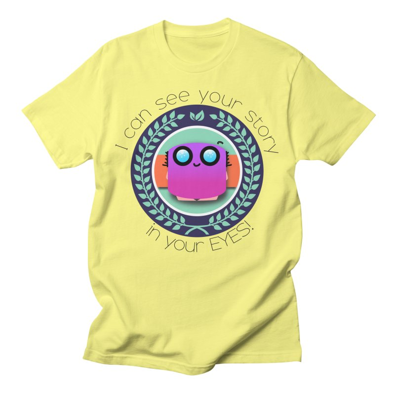 Your story in your eyes Men's T-Shirt by ZuniReds's Artist Shop