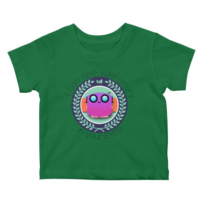 Your story in your eyes Kids Baby T-Shirt by ZuniReds's Artist Shop