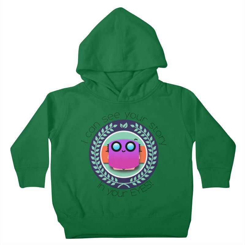 Your story in your eyes Kids Toddler Pullover Hoody by ZuniReds's Artist Shop