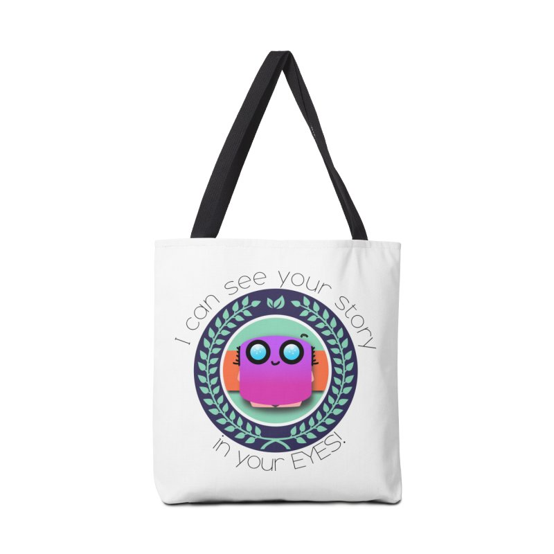 Your story in your eyes Accessories Tote Bag Bag by ZuniReds's Artist Shop