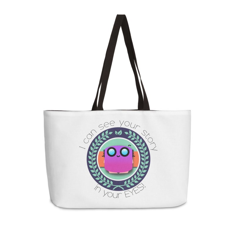 Your story in your eyes Accessories Weekender Bag Bag by ZuniReds's Artist Shop