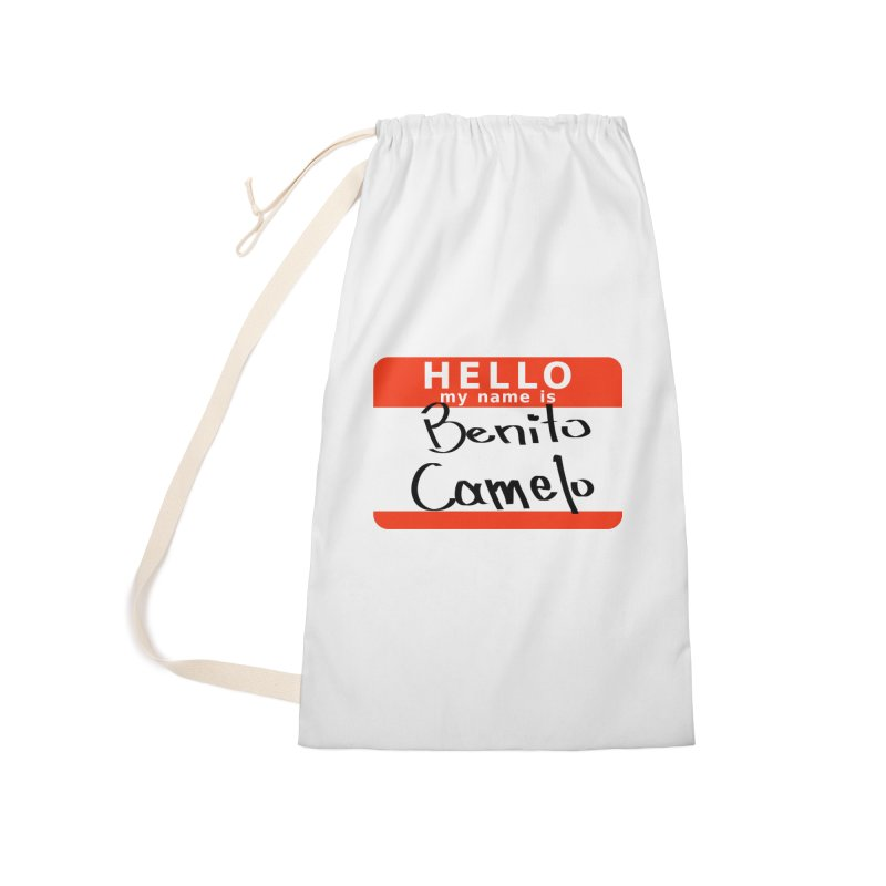 Hello Benito Accessories Laundry Bag Bag by ZuniReds's Artist Shop