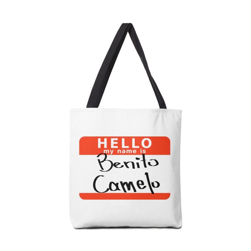 Hello Benito Accessories Bag by ZuniReds's Artist Shop