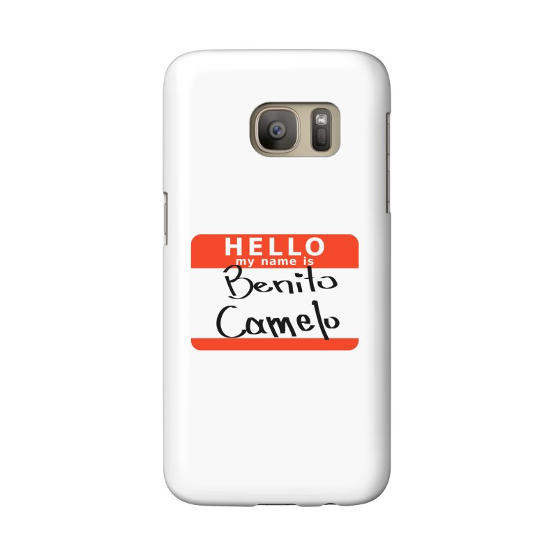 Hello Benito Accessories Phone Case by ZuniReds's Artist Shop
