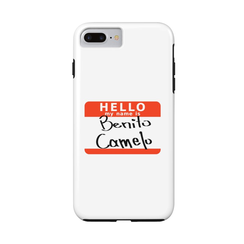 Hello Benito Accessories Phone Case by ZuniReds's Artist Shop