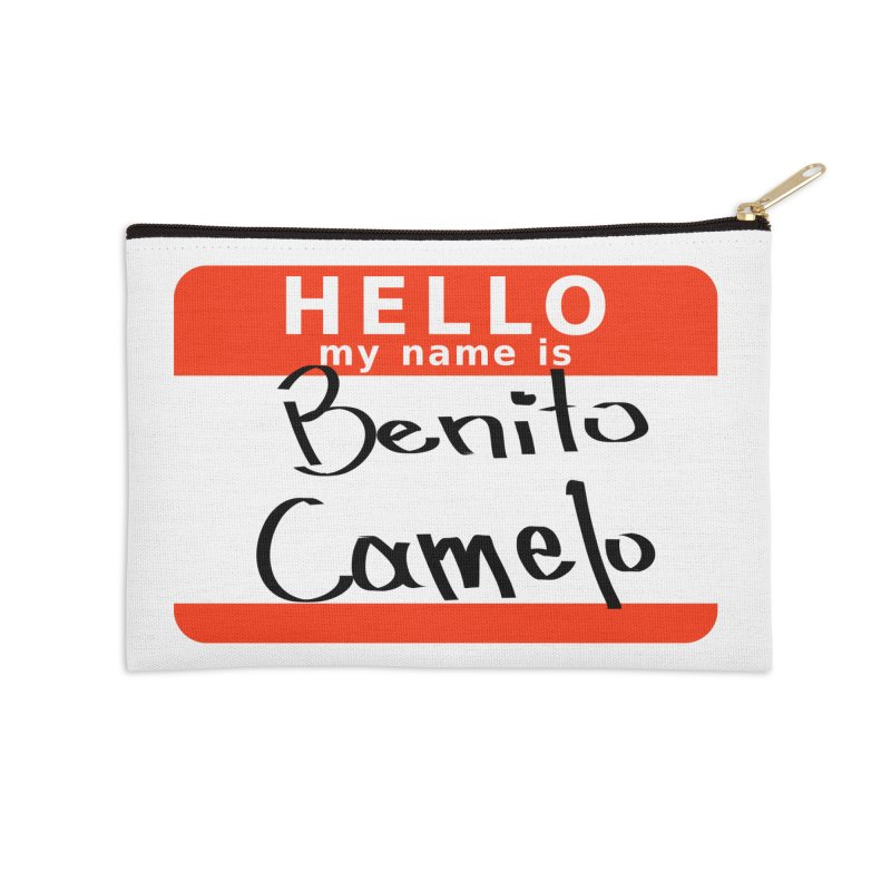 Hello Benito Accessories Zip Pouch by ZuniReds's Artist Shop