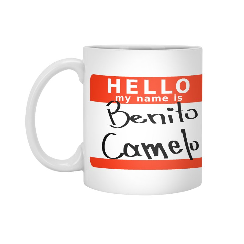 Hello Benito Accessories Standard Mug by ZuniReds's Artist Shop