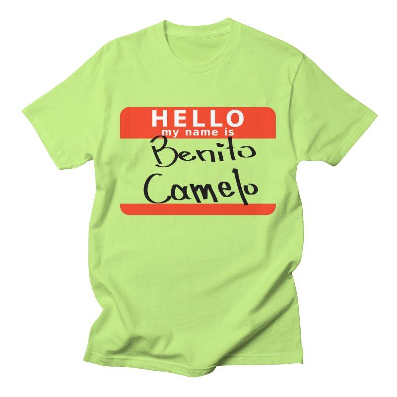 Hello Benito Men's T-Shirt by ZuniReds's Artist Shop